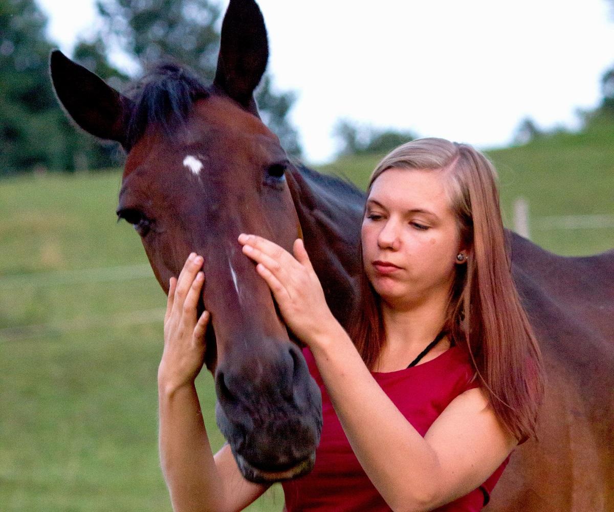 Sabine Frasl und Pferd_1